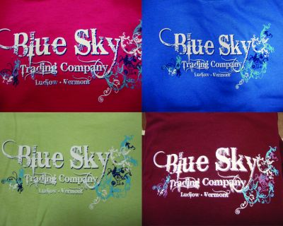 Blue Sky Ladies Tee